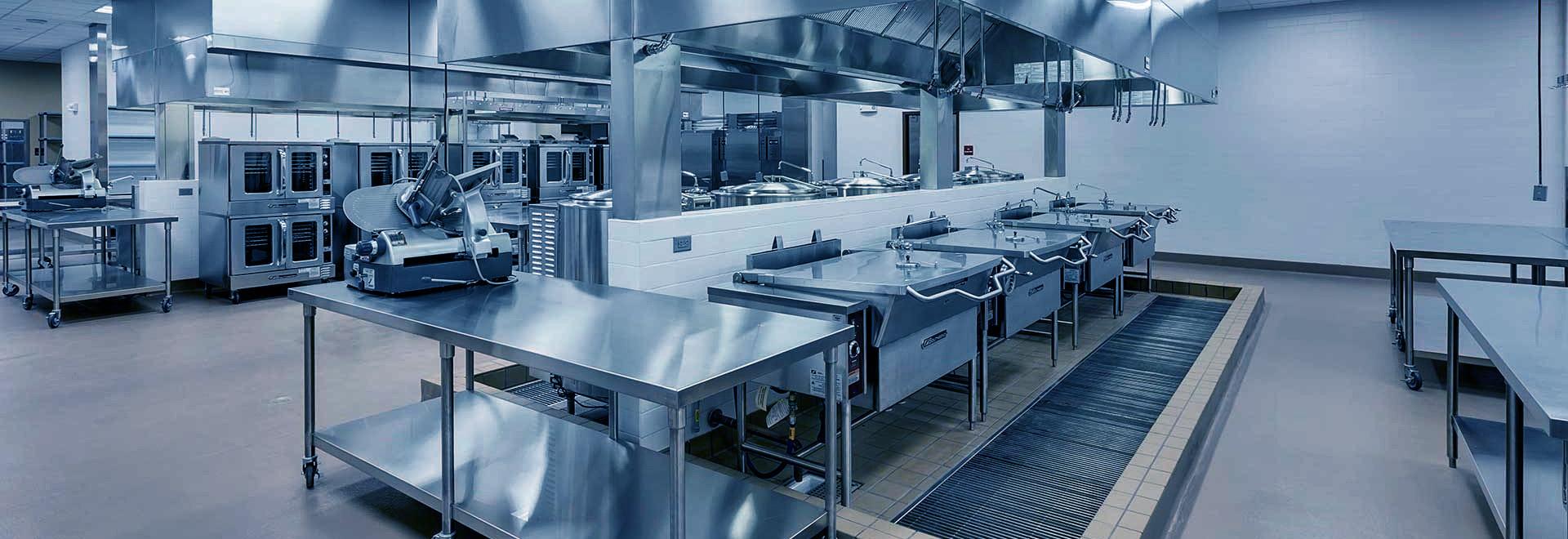 厨具厂家:食堂厨房工程